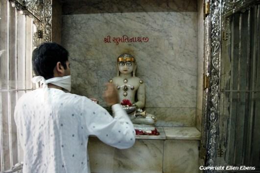 Inside a Jain temple in Mumbai