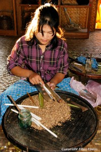 Cheroot Factory on Inle Lake