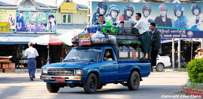 Pyay, street life