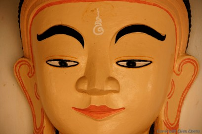 Pindaya, Buddha statue in a pagoda