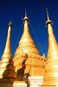 Pindaya, pagodas