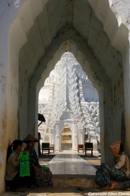 Mingun, the Hsinbyume Pagoda