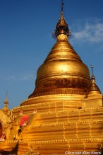 Mandalay, the Kuthodaw Pagoda