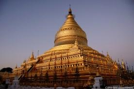 Bagan, the Shwezigon Pagoda