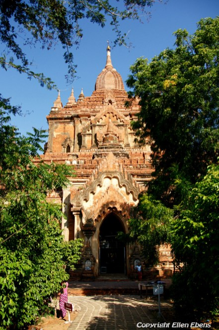 Bagan, the Htilominio Temple
