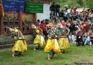 Bhutan Jakar Tschechu festival
