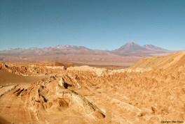Chile, Valle de la Luna