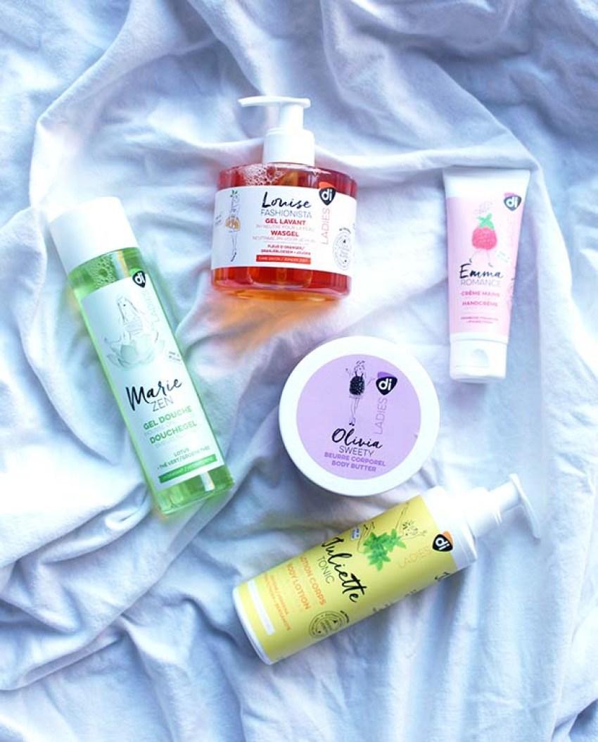Ontdek Di Ladies: vijf onmisbare producten voor in de badkamer