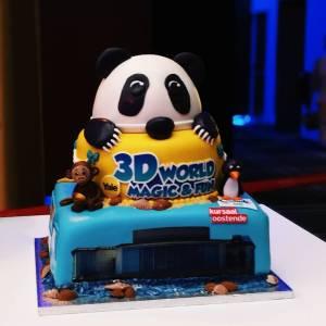 3D WORLD  Hoe mooi is deze taart vanhellip