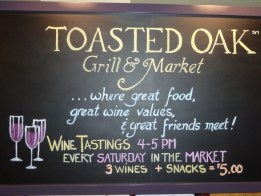 Toasted Oak Grill & Market Murals