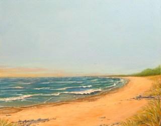 Peace fine art painting by Ellen Leigh