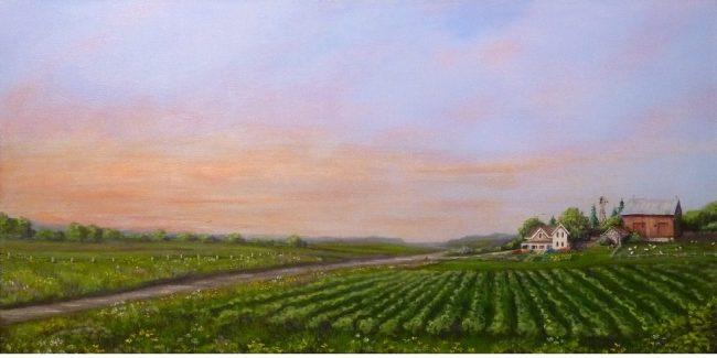 Fine Art paintings, house and pet portraits, landscapes by Michigan artist, Ellen Leigh