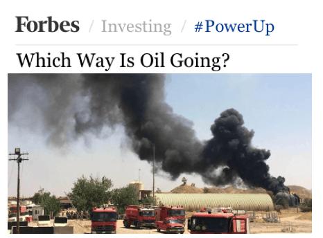oil going