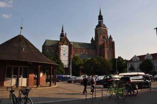 Mycket kyrkor i Stralsund