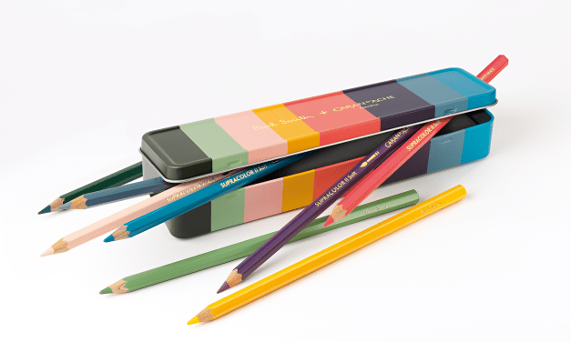 Etui 8 Farben SUPRACOLOR® Soft Aquarelle PAUL SMITH – Limitierte Edition