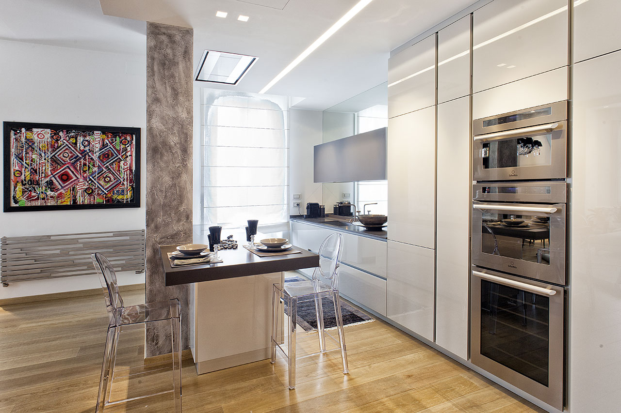 In un palazzo Liberty - Cucina - Ellepi Interior Design