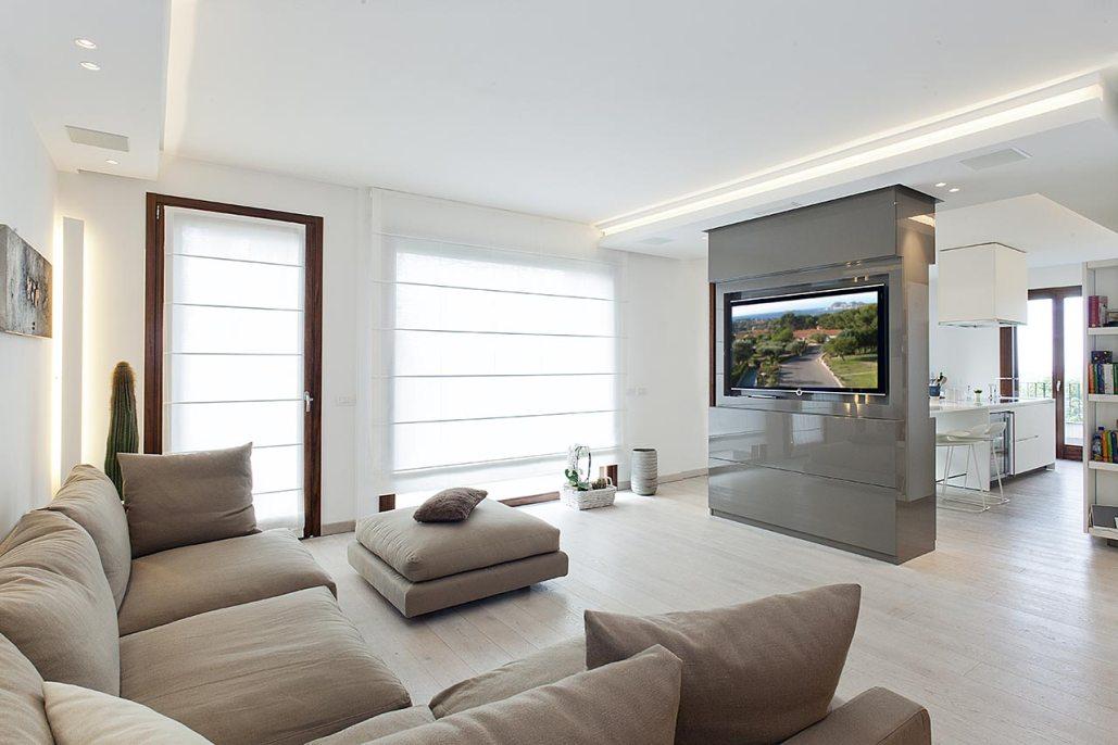 Raffinato minimalismo ellepi interior design for Interior design moderno