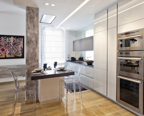 In un palazzo Liberty - Cucina