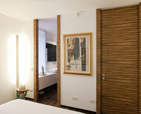 Rinnovata cascina lombarda - Camera da letto