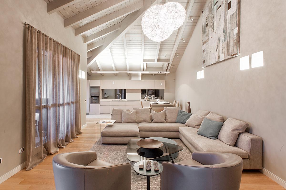Mansarda 06 - Salotto - Ellepi Interior Design