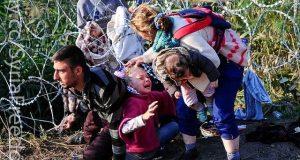 Refugiados sirios Idomeni Grecia Macedonia 2