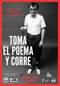"""""""Toma el poema y corre"""" - Sesión Golfa de Poesía @ El Doblao"""
