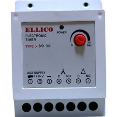 Star Delta Control Panel Wiring Diagram 2006 Honda Civic Audio Ellico Timer S D 100