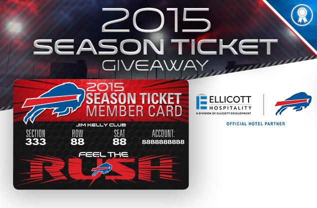 Season Ticket Giveaway for the Buffalo Bills
