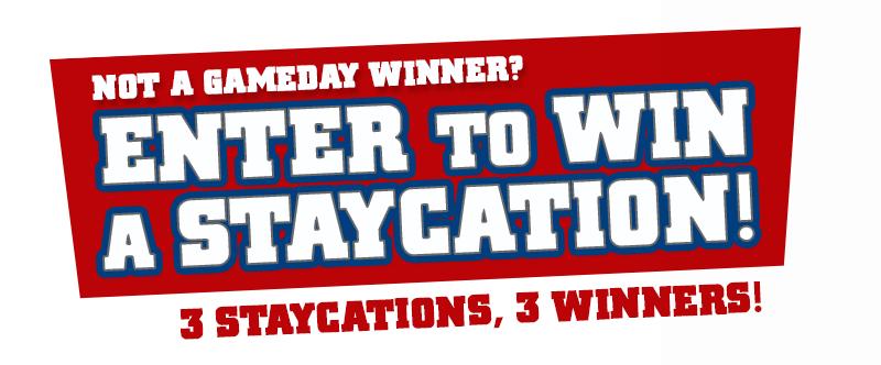 Bills Staycation Contest