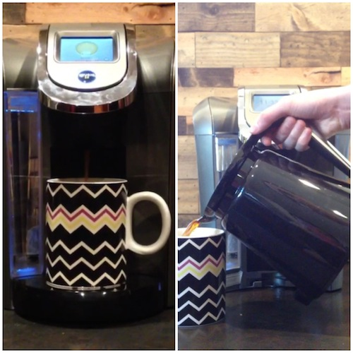 brew a cup or a carafe!