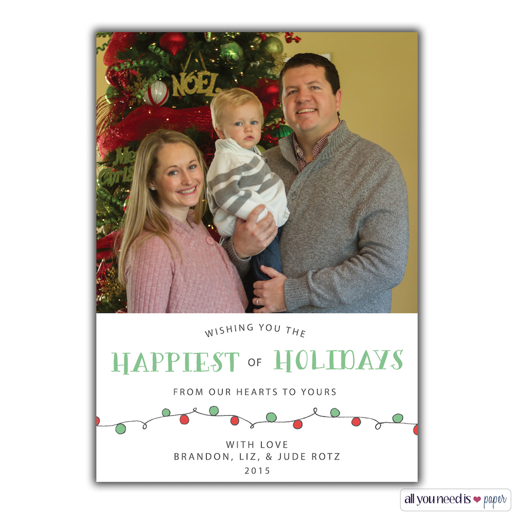 Christmas Cards 2015 | Ellie And Addie