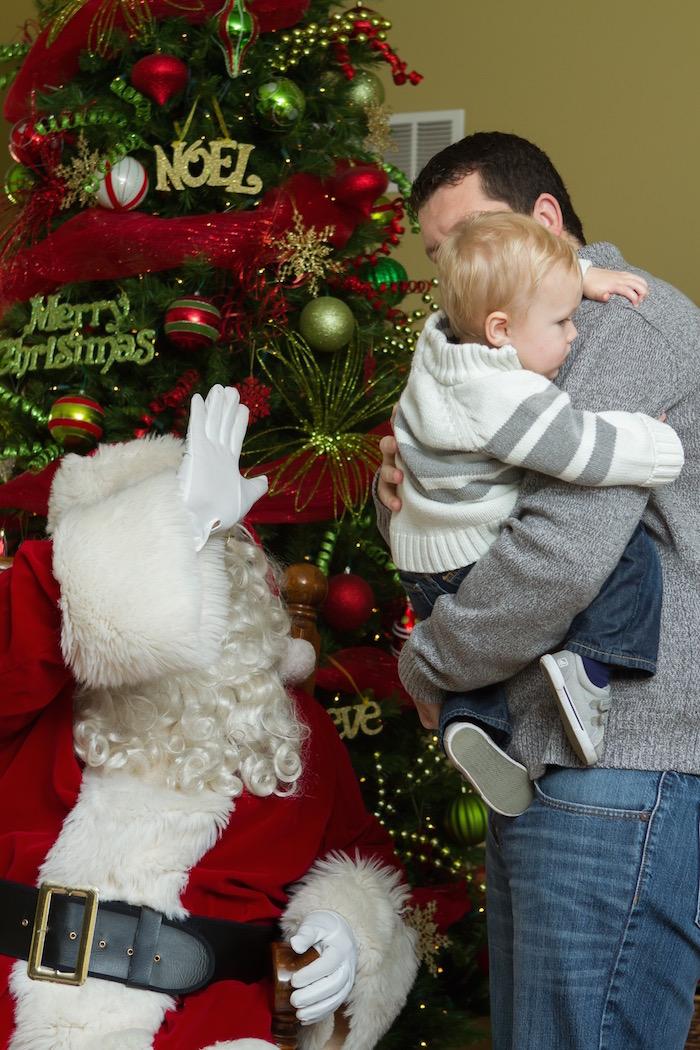 Visiting Santa 2015 | Ellie And Addie