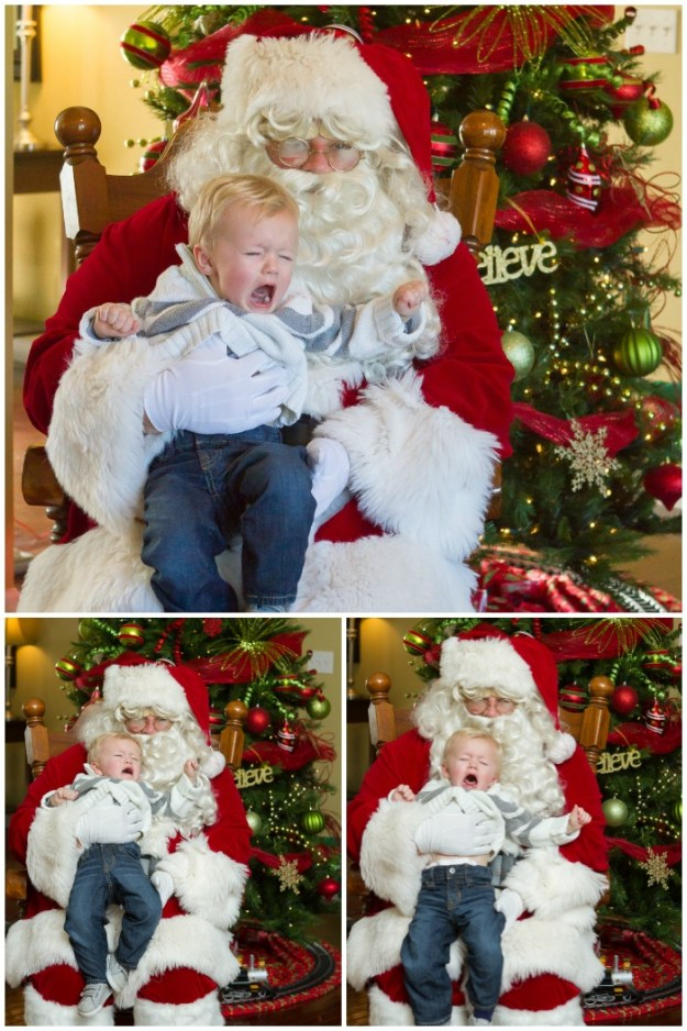 Visiting Santa 2015 | Ellie And Addie
