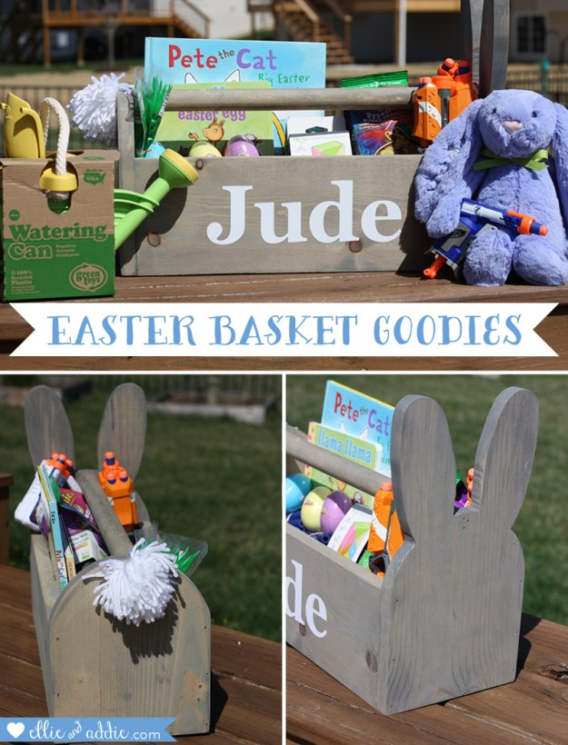 Easter Basket Goodies | Ellie And Addie
