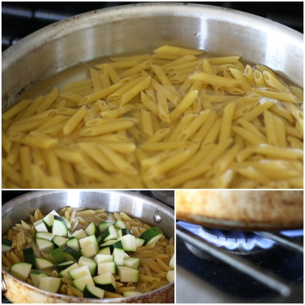 One Pan Garden Fresh Pasta Recipe | Ellie And Addie