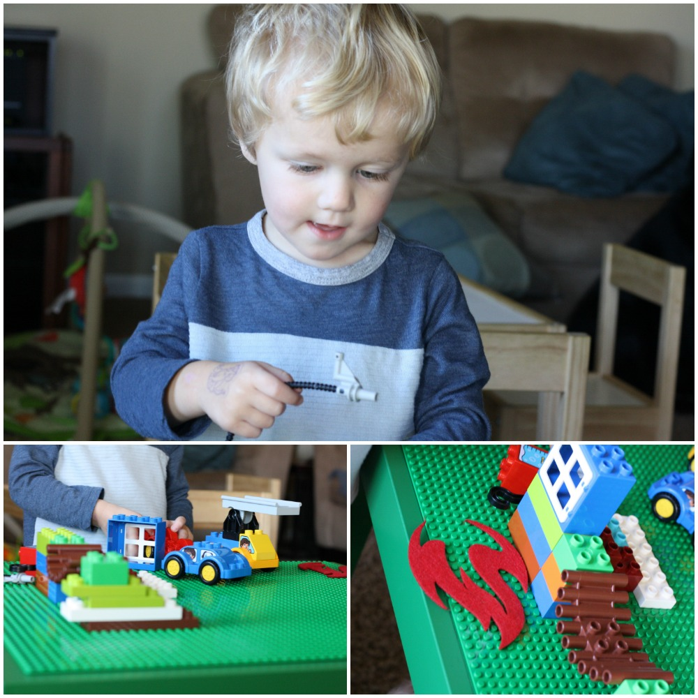 DIY Lego Table | Ellie And Addie