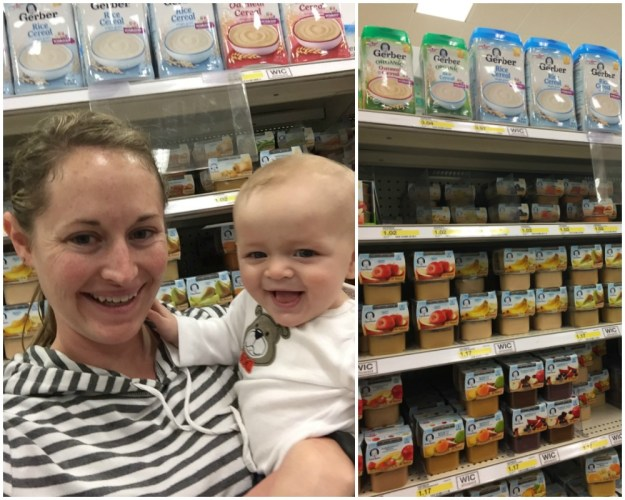 Ezra's First Bites with Gerber Cereal   Ellie And Addie
