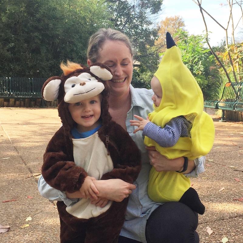 Go Bananas - Halloween 2016 | Ellie And Addie
