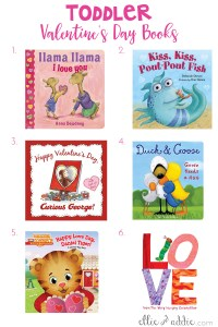 Toddler Valentine's Day Books | Elllie And Addie
