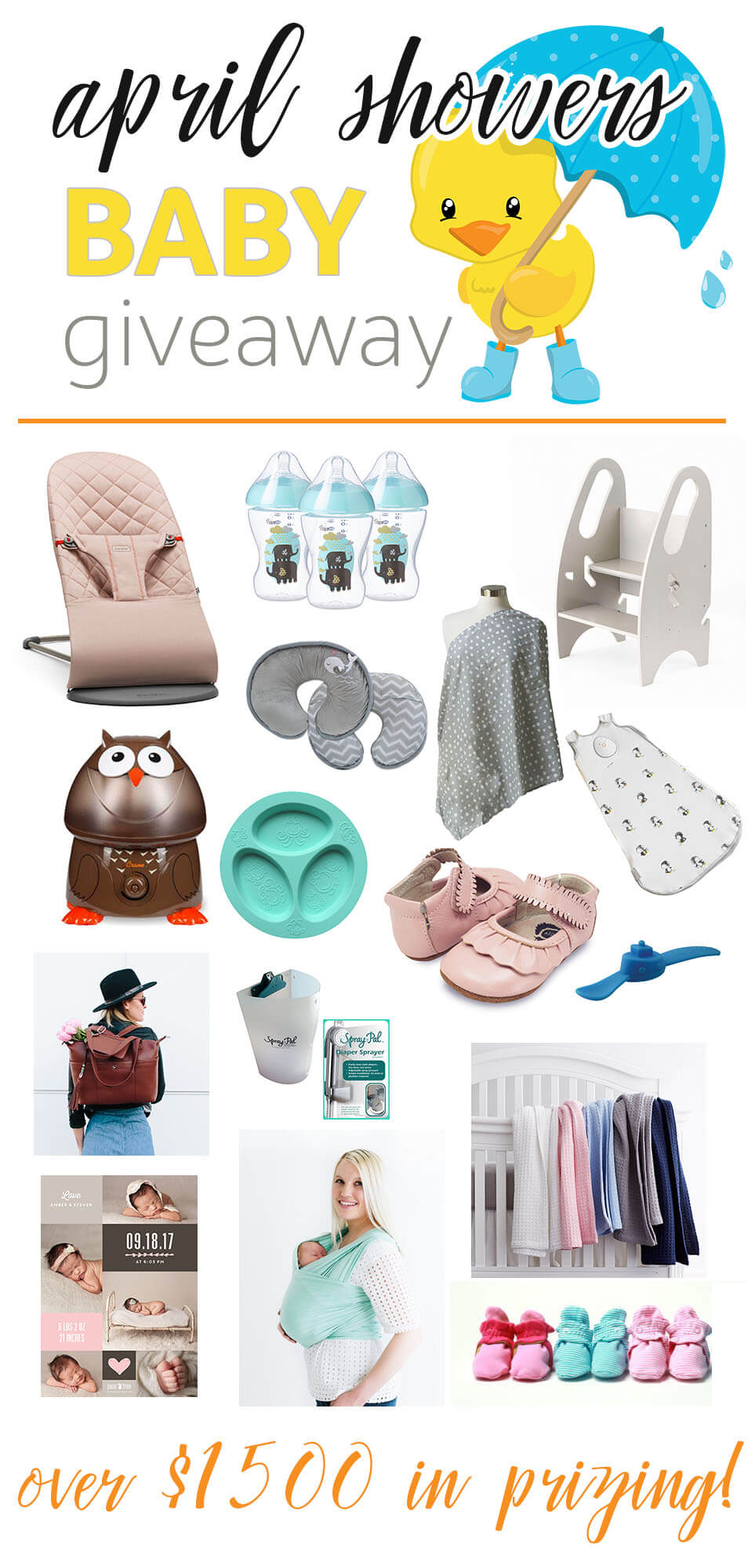 April Showers Baby Giveaway | Ellie And Addie