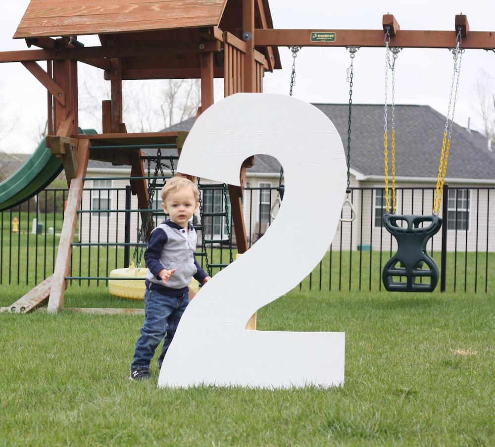 Happy Second Birthday Ezra! | Ellie And Addie
