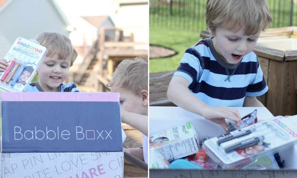 Toddler Fun with BabbleBoxx: All the best fun and snacks for toddlers! #Just4KidsBBxx | Ellie And Addie