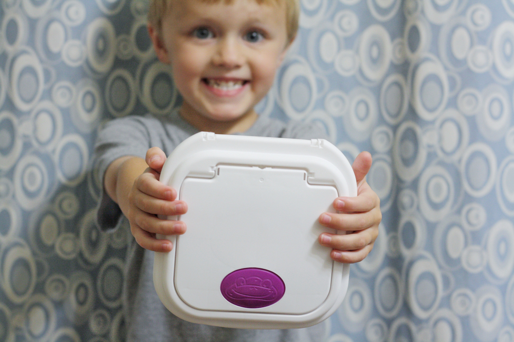 Potty Independence with Kandoo Flushable Wipes | St. Louis Lifestyle Blogger Liz from Ellie And Addie