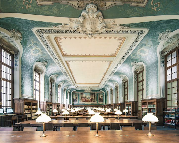Biblioteque Interuniversitaire de la Sorbonne, Paris, house of books, franck bohbot