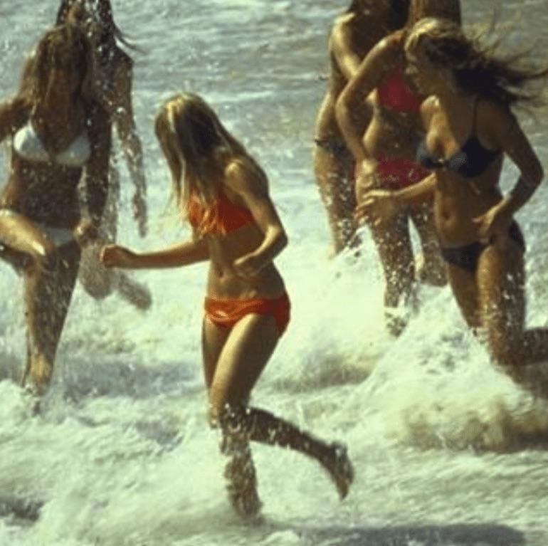 california beach 1970s