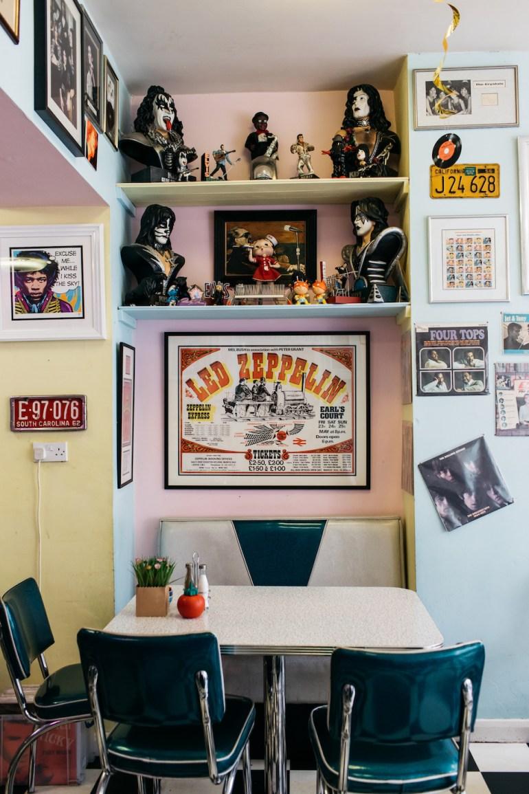 rock o la cafe brighton 1950s
