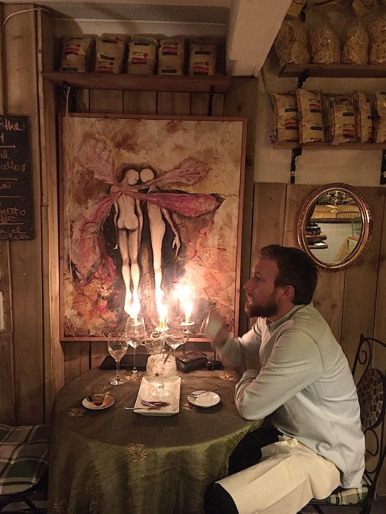 cosy romantic sicilian restaurant brighton