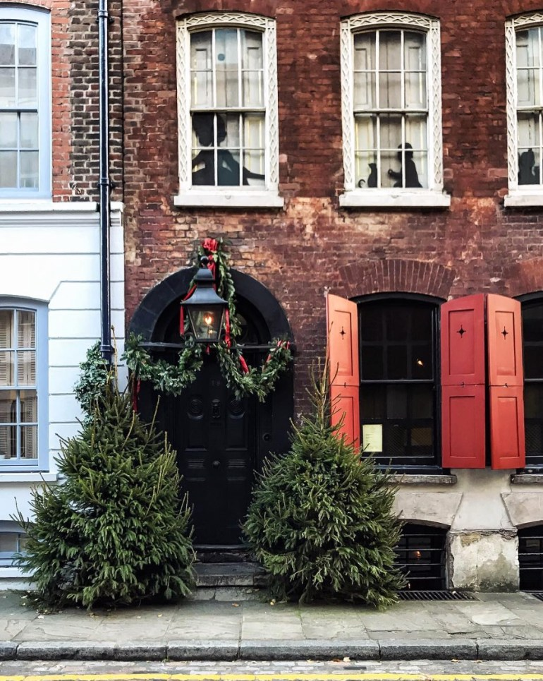 denis severs house spitalfields christmas