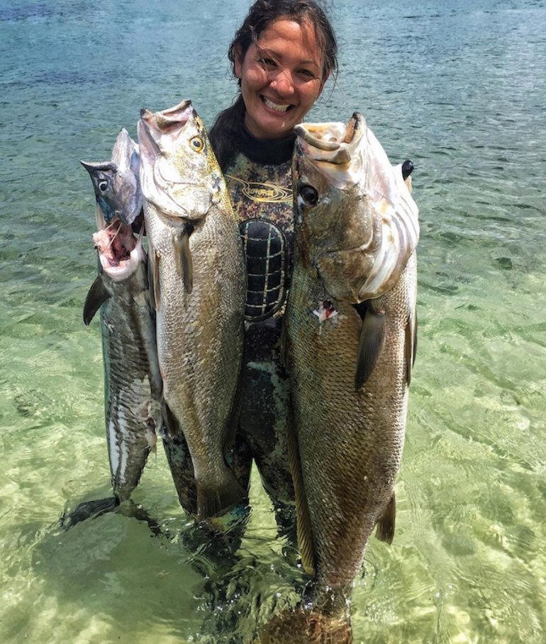 Kimi Werner champion spearfisherwoman