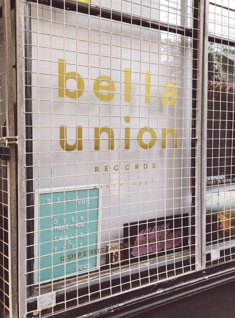 bella union music brighton ship street gardens